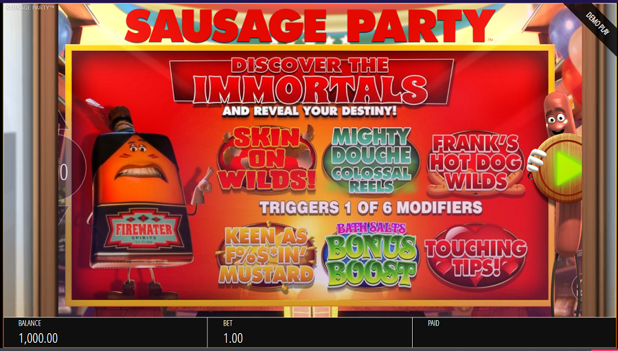 Sausage Party Slot -