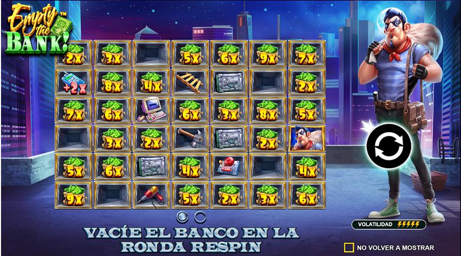 Empty The Bank Slot Es -