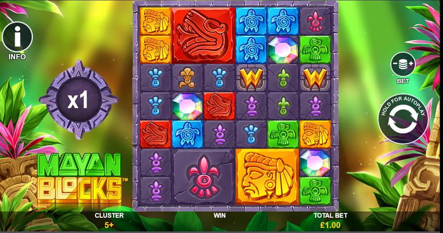 Mayan Blocks Slot -